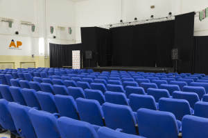 3. La nuova sala eventi e teatro