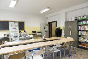 3. L'aula al terzo piano