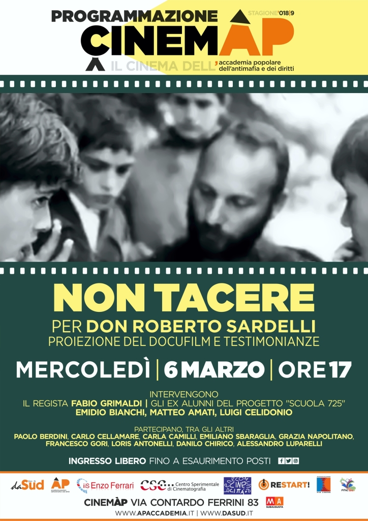 cinemap_locandina NON TACERE